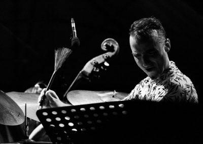 Simone Maggio Quartet contrabbasso