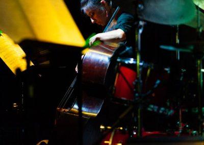 Simone Maggio Quartet live contrabbasso